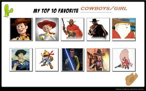 Top 10 Cowboys and Cowgirls by Dark-Warrior95