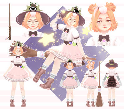 [Model] Witchy Poo Glinda by StylinSorrowMMD