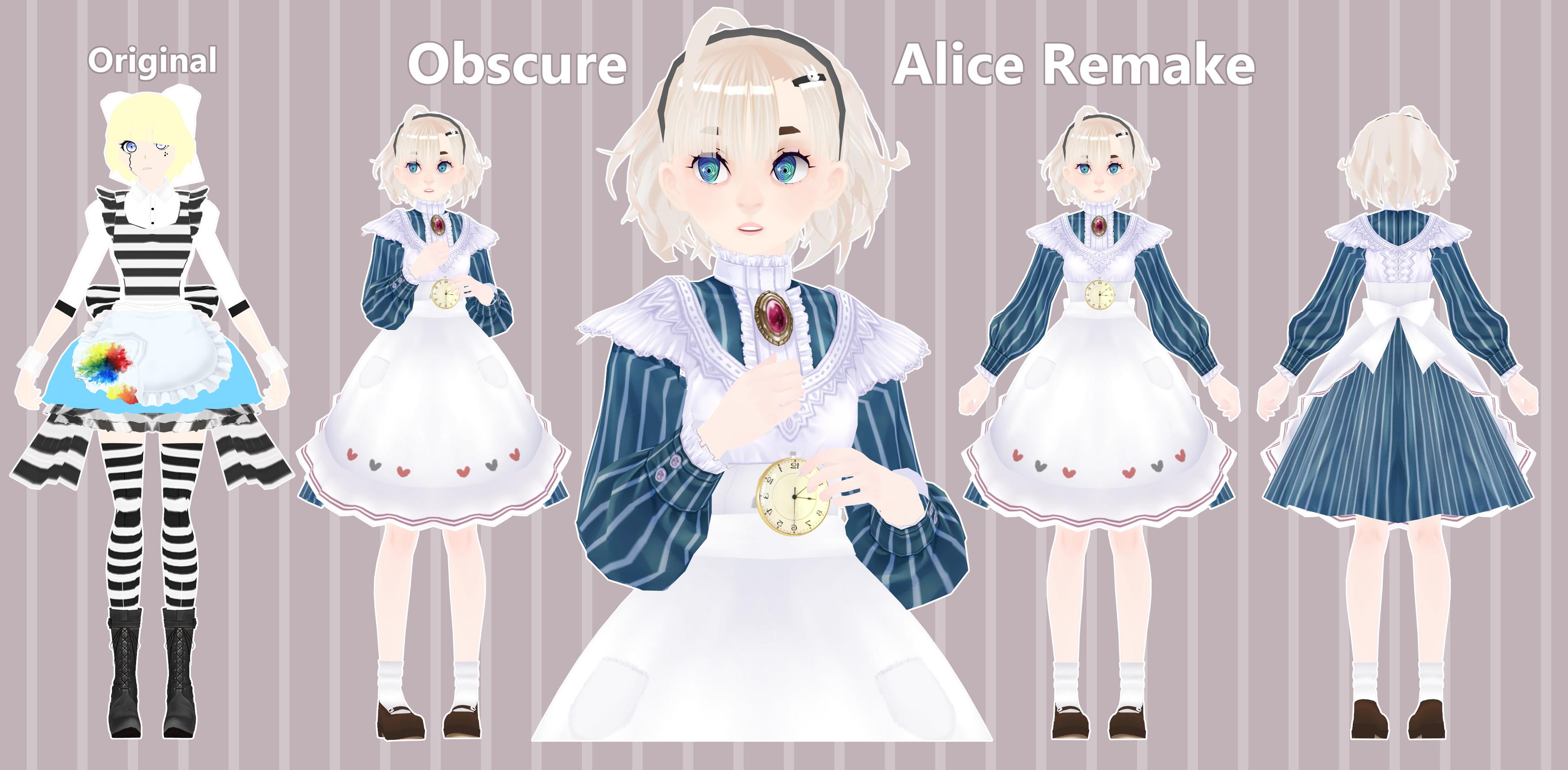[Model] Obscure Alice Remake by StylinSorrowMMD