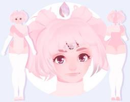[Model] Pink Moonstone by StylinSorrowMMD
