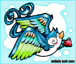 SWALLOW TATTOO by melbatoastb