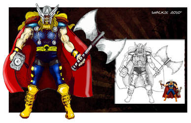 Thor by jbcaccam