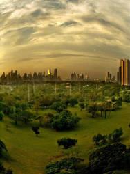 Makati Skyline by jbcaccam