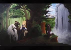 Talon's Journey by direndria