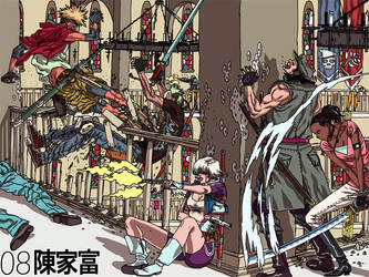 'Battle Royale 08' by AfuChan