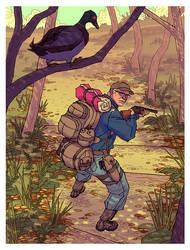 Robert Duck Hunt by AfuChan