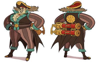 Captain Hui by AfuChan