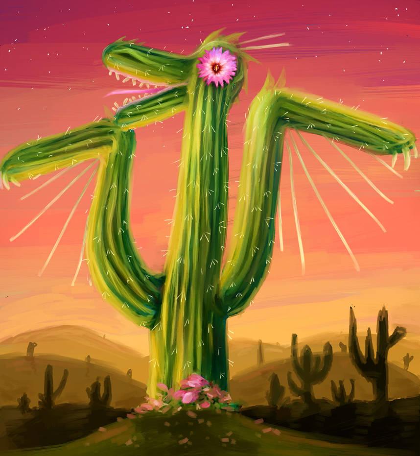 Cactus Dragon  by ICS1999