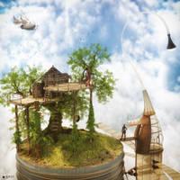 Dream shelter by Nihil-Novi-Sub-Sole