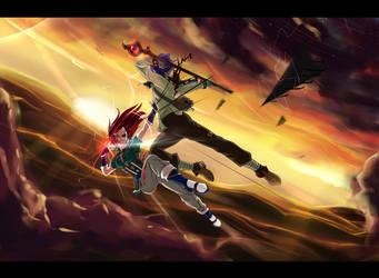 Eve of battle by djwagLmuffin