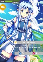 [SAO] Asuna's Request by ACEVelasquez