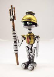 Little Wood Centurion Robot by buildersstudio