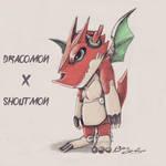 Shoutdracomon by BenGeigerArt