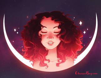 Rosey Slumber by ChrissaBug