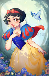 The Fairest of them All by ChrissaBug