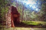 ruins at Newnes by davox1