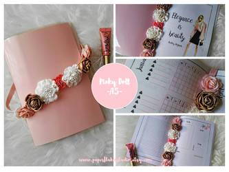A5 Printable Planner - Pinky Doll by MsVampireYuki