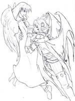 CC- Angel and Demon by tivy-chun