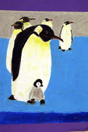 Antarctic Penguins by FuzzypandaNekochan