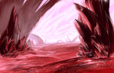 Red Exoplanet by Eliminate