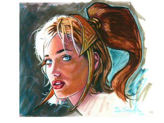Teela Sketch by ssava