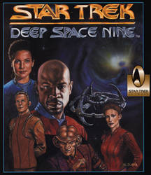 Star Trek DS9 Game Cover by ssava