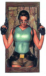 Lara Croft 2 by ssava