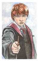 Ron Weasley Watercolor... by ssava