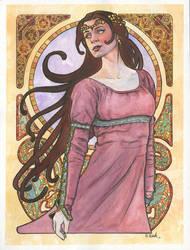 Art Nouveau 05 by ssava