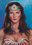 Lynda Carter Wonder Woman by ssava