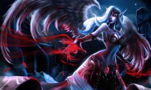 Exiled Morgana Splash art by DBR01