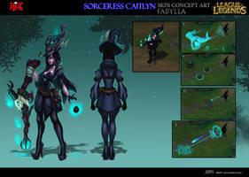 Sorceress Caitlyn by DBR01