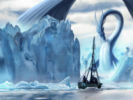 Ice Waters by ARTbyMARC