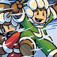 Christmas Climbers by Nikcesco