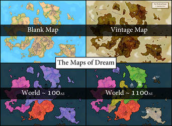 Story Supplement: Maps of Dream by Darzall