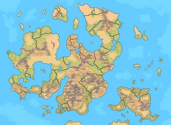 Dream Map: Blank by Darzall