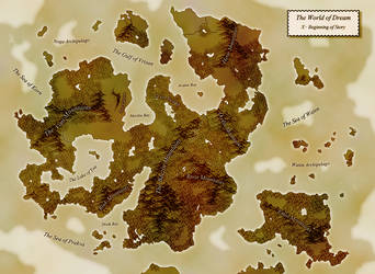 Dream Map: Vintage by Darzall
