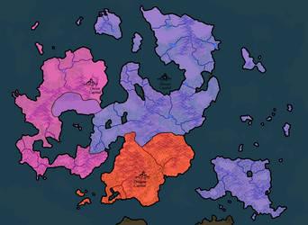 Dream Map: World (100AE) by Darzall