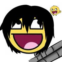 hibari epic face by jkcoolz