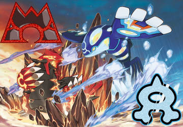 Pokemon Omega Ruby and Alpha Sapphire Wallpaper by JerryScander