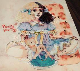 Melanie Martinez - Pacify Her postcard by Svveet