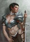 Cassandra Pentaghast in fantasy armor by ynorka