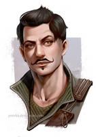 Dorian portrait by ynorka