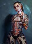 Mass Effect - Jack by ynorka
