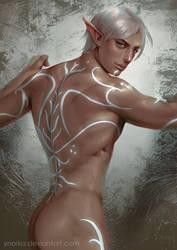 Fenris's back by ynorka