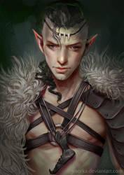 The Dread Wolf by ynorka