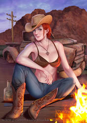 Rose of Sharon Cassidy by ynorka