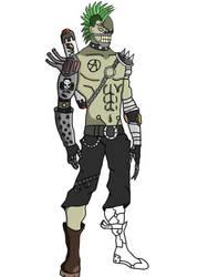 Overwatch character: Anarchy  by boooooki