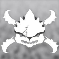 Krogan Skull Logo by Puhnkss