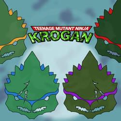 Teenage Mutant Ninja Krogan by Puhnkss